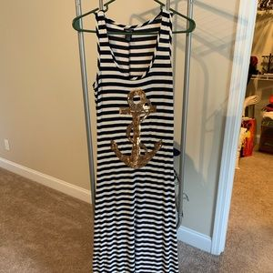 Rue 21 summer maxi, anchor